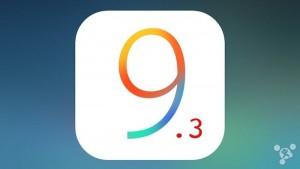 iOS9.3 Beta4已推送~~固件下载